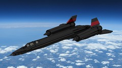 B 71 (John Moffatt) Tags: lego plane jet sr 71 b black red makes it faster zoom
