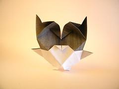 Baby Snow Owl  Stphane Gigandet (Rui.Roda) Tags: origami papiroflexia papierfalten hibou mocho coruja eule baby snow owl stphane gigandet