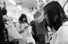 Depths (Jesús Simeón) Tags: fushimiinaritaisha train depths japn kyoto reflection 反射 blackandwhite blackwhite monochrome noire streetphotography profile