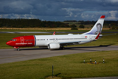 LN-NGD B737-8JP EGPH 09-10-16 (MarkP51) Tags: lnngd boeing b7378jp b737 norwegianshuttle dy edinburgh airport edi egph aircraft airplane plane image markp51 nikon d7200