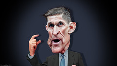 Michael Flynn - Caricature (DonkeyHotey) Tags: michaelthomasflynnmichaeltflynn michaelflynn mikeflynn usarmy lieutenantgeneral directorofthedefenseintelligenceagency dia republican rnc gop donkeyhotey photoshop caricature cartoon face politics political photo manipulation photomanipulation commentary politicalcommentary campaign politician caricatura karikatuur karikatur
