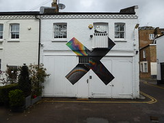 One Codrington Mews (duncan) Tags: onecodringtonmews mural xl xlrecordings portobello nottinghill thexx coexist