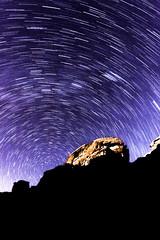 Circumpolaire Wadi Rum (b4d0cK) Tags: jordanie voyage cicumpolaire dsert nuit wadirum toiles