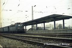BR 141 094-3 Mnchen Station Westkreuz 1970 copy (Pacific11) Tags: mnchen munich 1970 1971 vintage alt selten bilder bayern