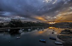 Puesta de sol en San Vicente - Sunset at San Vicente (Eduardo Valdivia) Tags: sanvicentedelabarquera cantabria españa spain sunset puestadesol