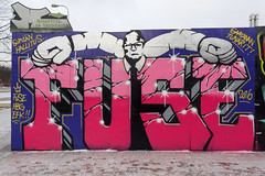 (Bergolli) Tags: graffitimyyryork piece spray can art street photo urban vantaa helsinki hiphop documenting paint fame style fuse
