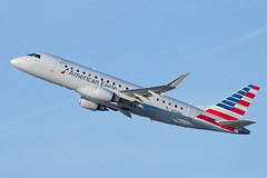 American Eagle (Compass Airlines) Embraer ERJ-175 N210NN (jbp274) Tags: lax klax airport airplanes americaneagle compassairlines compass cp embraer erj175 e175