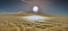 ber den Wolken (williwacker85) Tags: luftaufnahme nebel wolken windrder sonne