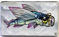 """Veks Van Hillik - """"Perds pas le nord"""" (Thethe35400) Tags: boussole poisson fish pescado fisch arrain peix peixe pesciu pesce fisk ryba pete"""