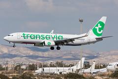 PH-HSK - Transavia - Boeing 737-8K2(WL) (5B-DUS) Tags: boeing737800 phnetherlands phhsk planes transavia boeing 7378k2wl 737 b738 737800 lca lclk larnaca larnaka international airplane airport aircraft aviation cyprus flughafen flugzeug plane planespotting spotting