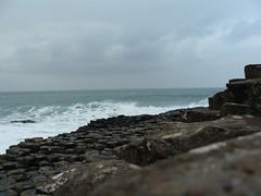Into the Irish Sea (1) (Michael JasonSmith) Tags: giantscauseway basalt rock sea