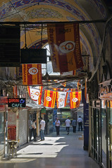 Colorful Highlights (caribb) Tags: city light summer vacation urban sunlight mall turkey shopping türkiye landmark istanbul flags historic commercial shops bazaar stores merchants touristattraction fatih marmara constantinople grandbazaar 2015 çarşı çarsi lygos karpalicarsi
