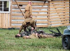 Battle for the Moravian gate (The Adventurous Eye) Tags: world red two army war wwii battle games historic ww2 presentation reenactment werhmacht 2015 cihelna bitvaomoravskoubrnu