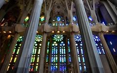 Color (nmmacedo) Tags: light color luz church window cores stainedglass igreja janela modernisme vitral coluna canoneos500d sagradafamilia colimn biendeinterescultural secxixasecxxi 19thto21stcentury