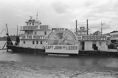 Memphis Riverboat (boloveselvis) Tags: john tn tennessee queen landing ilfordhp5 captain mighty 400asa 400iso mississipi ilfordfilm lozier