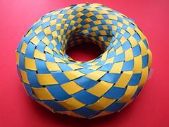 Weaving a Torus with Villarceau Circles (fdecomite) Tags: circle geometry math torus weaving mobius villarceau