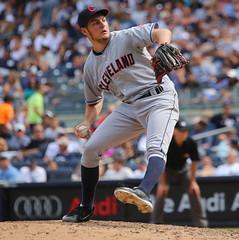 Indians vs. Yankees: 8/23/2015 (apardavila) Tags: sports baseball clevelandindians yankeestadium mlb majorleaguebaseball trevorbauer