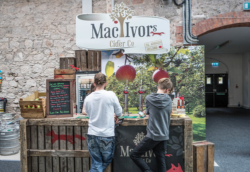 IRISH CRAFT BEER FESTIVAL IN THE RDS LAST WEEKEND IN AUGUST 2015 [Mac Ivors Cider] REF-107282