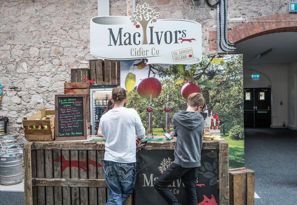 IRISH CRAFT BEER FESTIVAL IN THE RDS LAST WEEKEND IN AUGUST 2015 [Mac Ivors Cider] REF-107282