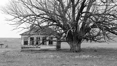 Malheur County Oregon School (joeqc) Tags: old school bw white black abandoned monochrome oregon canon mono or forgotten greytones