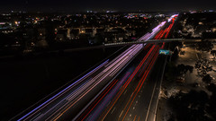 US 101 North | Mountain View (dostehboss) Tags: road nightphotography google aerial freeway mountainview us101 4k drone dronephotography djiphantom