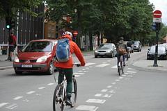 Sykkelfelt Kjpmannsgt. 0027 (Miljpakken) Tags: trondheim rdt sykling bymilj gatemilj miljpakken syklister bygate bytransport bytrafikk miljopakken sykkelveg sykkelanlegg bysykling