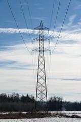 Due rette parallele..... (albi_tai) Tags: nikon d750 highvoltage simmetria prospettiva elettricità parallele cavi traliccio altatensione rette aforisma albitai nikond750