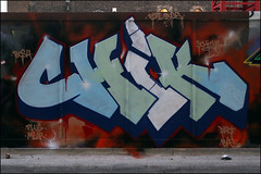 Chik (Alex Ellison) Tags: urban graffiti boobs shoreditch halloffame graff hof eastlondon chik fbs
