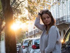 PA010369 (Solne Tarrieu) Tags: portrait people woman france water soleil eau lumire femme bordeaux jardin extrieur fontaine solnetarrieu