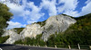 Rocks of Freÿr (beeveephoto) Tags: road trees sky cloud mountain nature water rock skyline clouds forest river landscape belgium outdoor 1735mmf28d meuse rockformation wallonia nohdr hastière freÿr nikond800e nikkor1735mmf28afsdifed
