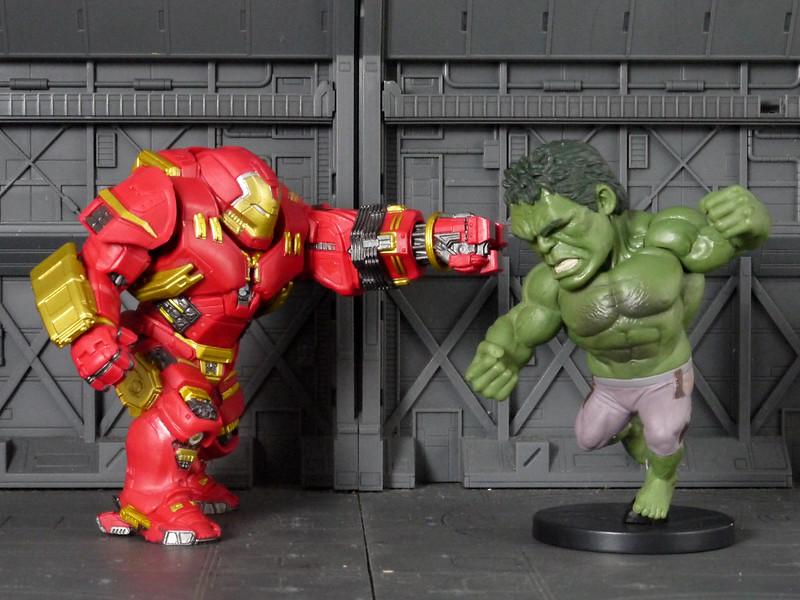 Hulk Buster VS. Hulk