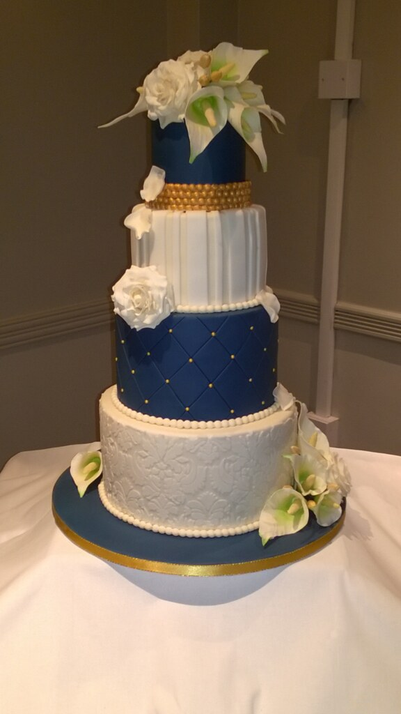 navy blue and rose gold wedding cake the world s most recently posted photos of gumpaste and 17760
