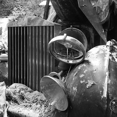 Dust to Dust (roger.w800) Tags: abandoned rotting car vintage rust vintagecar decay rusty rusted rusting scrap decaying dumped abandonedcar vanishingbeauty abandonedclassiccar