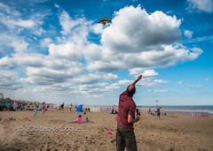 #111 It's a Beautiful Day (belincs) Tags: uk kite beach outdoor august lincolnshire gettyimages 2015 115picturesin2015