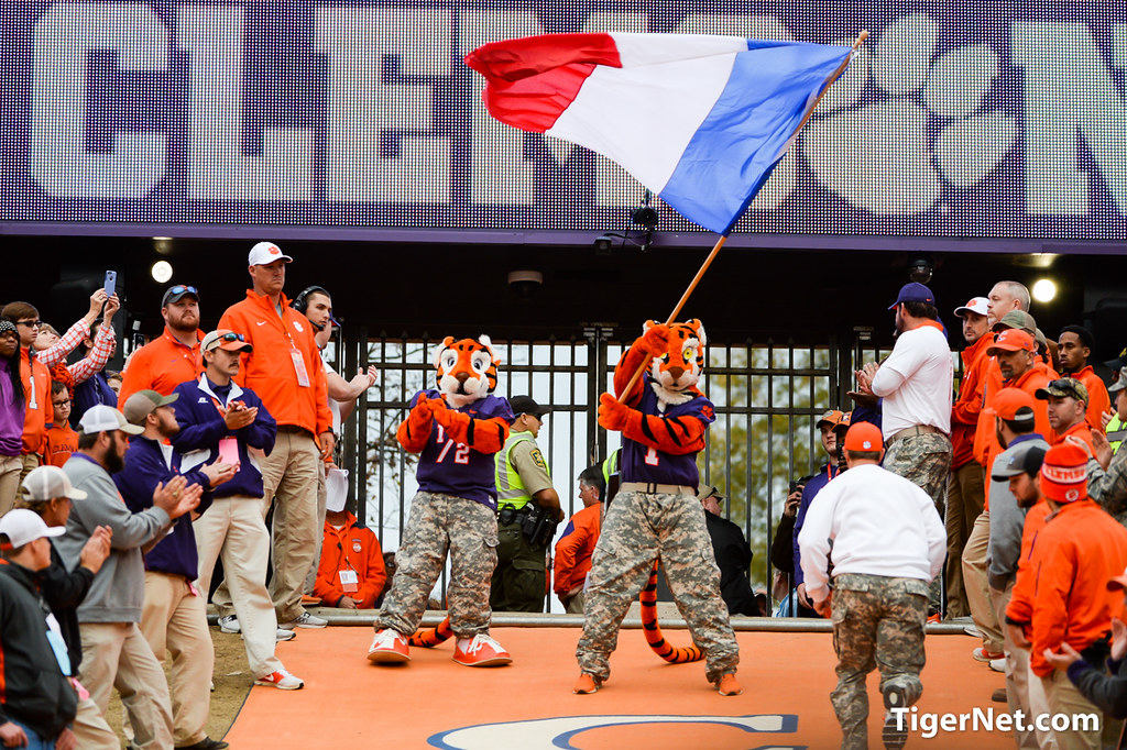 Clemson Photos: The  Hill, The  Tiger, 2015, Football