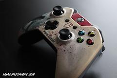 art one mod tomb xbox gaming lara croft microsoft custom controller manette raider amka vadu
