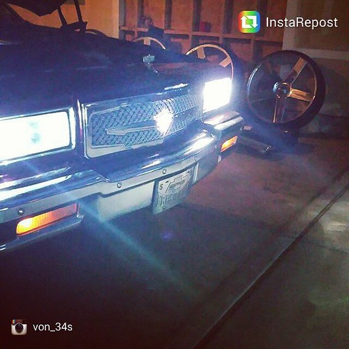3rd Gen Tiarra grille with lighted logo on Box Chevy  Repost