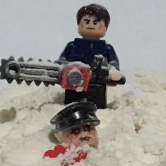 Lego Dead Snow (Gunner S Lego) Tags: snow dead lego zombie nazi zombies