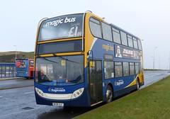 19237 - MX08 GLF (Cammies Transport Photography) Tags: bus sorry manchester fife magic 400 service to alexander dennis stagecoach loan dunfermline enviro on in glf halbeath 19237 not mx08 pampr mx08glf