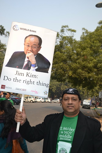 India World Bank Protest