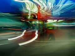 London Bus (Chris-Pattison) Tags: camera bus london movement icm intentional