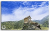 Small hut on top of a mountain in Janjehli valley (KS Photography!) Tags: hut house abandoned old wooden wood exterior mountain panorama lodge forest peak rock arch aged nobody archeology urban historic building trek trekking architecture roof texture ruin outdoors empty home antique ancient vintage structure bluesky clouds uphill green grass haunted broken meadows rural rustic history landscape janjehli himachalpradesh himalayas india