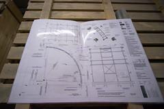 """The plans (Sheep""""R""""Us) Tags: london england unitedkingdom gb crossrail railway station construction plan diagram"""
