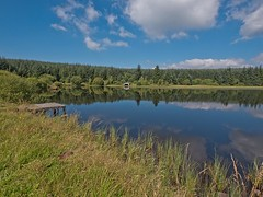 Loch Ettrick is located on the road between Closeburn nr Thornhill and Ae Village (penlea1954) Tags: loch ettrick closeburn thornhill ae village dumfries galloway southern uplands scotland uk fishing