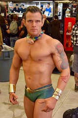 DSC_0364 (Randsom) Tags: nycc 2016 newyorkcomiccon nycomiccon javitscenter october nyc newyorkcity cosplay costume fun comicbooks comicconvention marvelcomics avengers brunett swimming olympian athlete swimtrunks mutant namor submariner handsome hot guy man abs chiseled tattoo fantasy barechest male physique hunk portrait