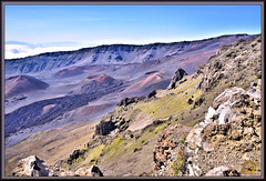 I am simply fascinated by the view (WanaM3) Tags: wanam3 nikon hawaii maui haleakala houseofthesun crater volcano hiking cinder