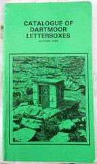 Dartmoor Letterbox Catalogue 1988 (Bridgemarker Tim) Tags: dartmoor letterboxing views moors desolate bookstore bookstores bookshop books libreria librerias