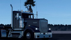 Kenworth W900 with AlexeyP interior/exterior mod (atsworld) Tags: kenworth ats american truck simulator americantrucksimulator w900