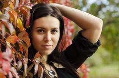 Stephanie (Magyoz) Tags: autumn fall colors colours girl woman leaves yellow red black dress pretty beautiful budapest hungary ősz magyarország nő lány szép