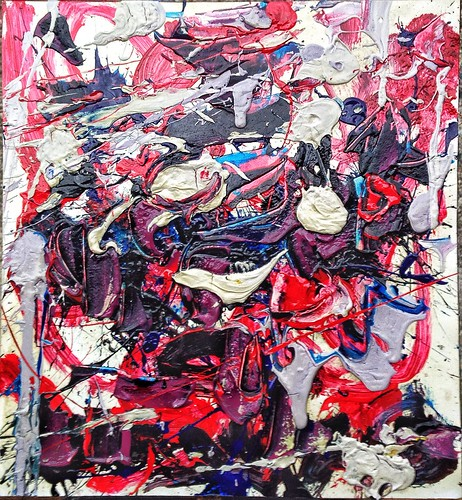 #josephallenart #oct2016 16.5x15 #acryliconpaper #abstractpainting